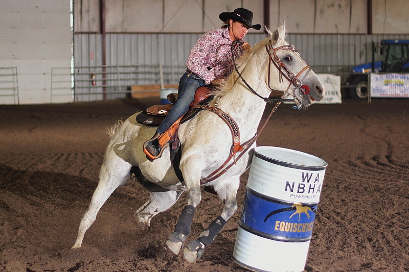 Barrel Racing - Canon T2i demo shot by Jim Zimmerlin