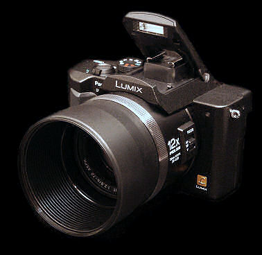 Panasonic Lumix DMC-FZ10k digital camera with 12x zoom