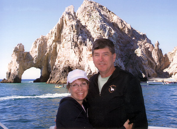 Jim & Kellyn in Cabo San Lucas, Mexico