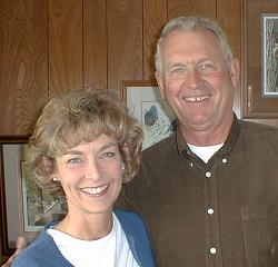 My sister, Judy, and her husband, Jim