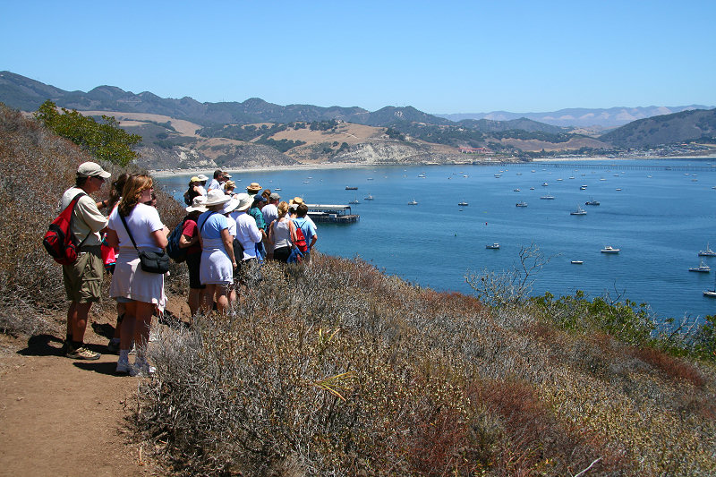 Hiking above Port San Luis