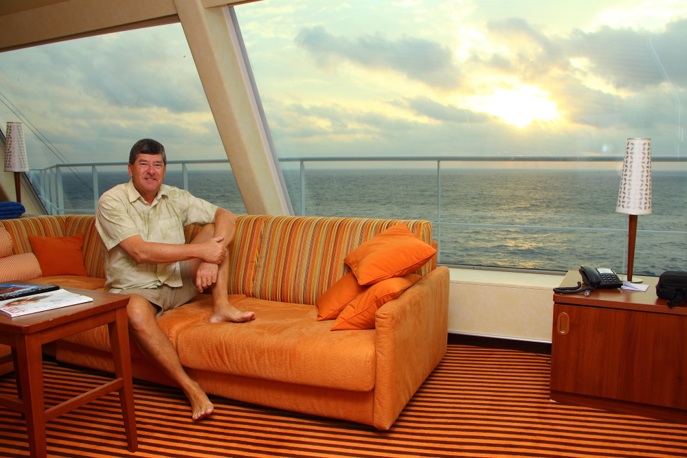 carnival sunshine loved the captains suite wont be
