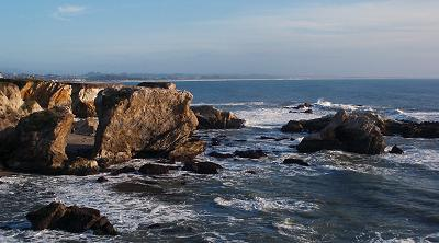 The coast at Pismo Beach