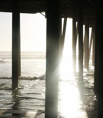 a photo of the pier at Pismo Beach California