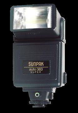 Click here for Sunpak 383 flash from Amazon.com