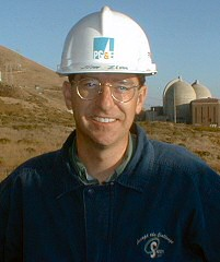 Jim Zimmerlin at Diablo Canyon Power Plant in the 1990s